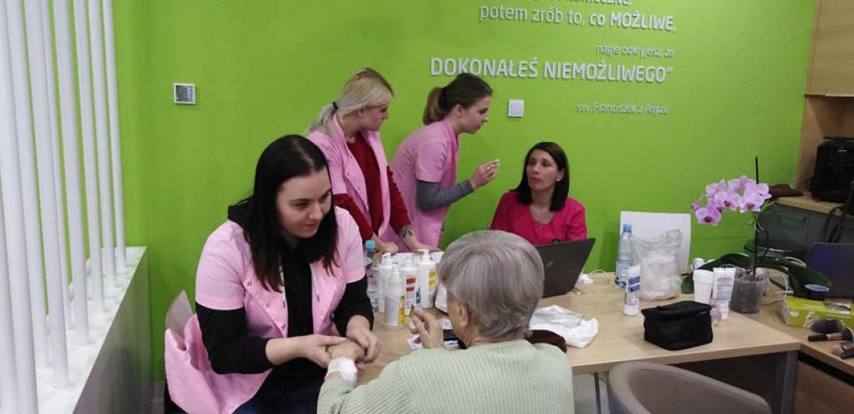Spotkanie zpacjentkami NU-MED Centrum Diagnostyki iTerapii Onkologicznej