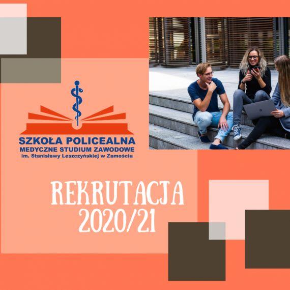 REKRUTACJA 2020/20121